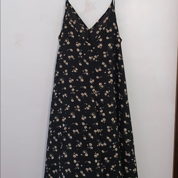 SHEIN Dresses & Skirts - Black floral maxi dress